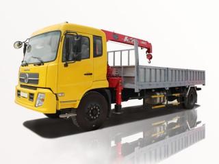 Xe Cẩu Dongfeng B190 7T5 Gắn Cẩu Unic URV345