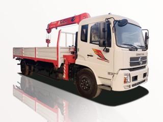 Xe Cẩu Dongfeng B180 6T7 Gắn Cẩu Unic URV504