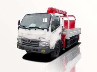 Xe Cẩu Hino Dutro 300 3T3 Gắn Cẩu Unic URV295