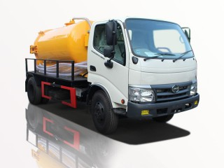 Xe Hút Chất Thải Hino Dutro 300 3T3