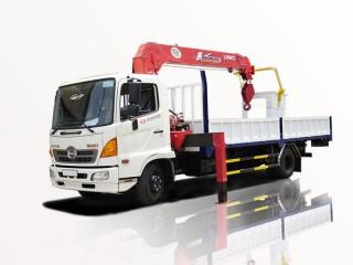 Xe Cẩu Hino FC9JLTA 3T5 Gắn Cẩu Unic URV555