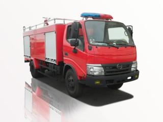 Xe Chữa Cháy Hino 3 Khối - WU342L-NKMTJD3