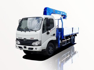 Xe Cẩu Hino XZU650L 1 Tấn Gắn Cẩu Tadano TM-ZE263MH