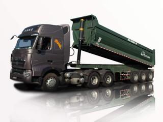 Xe Đầu Kéo Howo A7 Máy 375HP