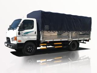 Xe Tải Hyundai New Mighty 110SL 7 Tấn Thùng Bạt