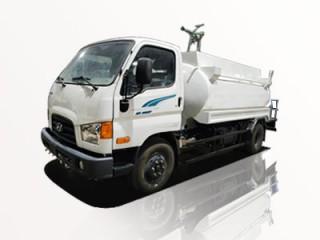 Xe Phun Nước Rửa Đường Hyundai New Mighty 110SP 6.1 Khối