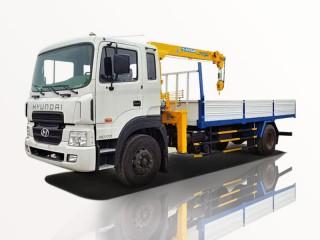 Xe Cẩu Hyundai HD170 5T2 Gắn Cẩu Soosan SCS524