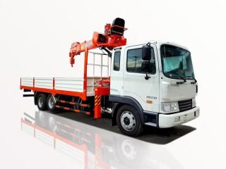 Xe Tải Hyundai HD210 12 Tấn Gắn Cẩu KangLim 5 Tấn KS1056T
