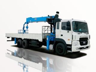 Xe Tải Hyundai HD250 11 Tấn Gắn Cẩu Dongyang SS1406 6 Tấn 6 Khúc