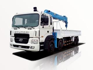 Xe Tải Hyundai HD320 13 Tấn Gắn Cẩu Dongyang SS2037 8 Tấn