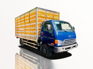 Xe Tải Hyundai HD700 5T7 Chở Gà Vịt Con