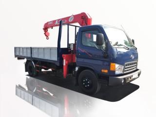 Xe Cẩu Hyundai HD72 2 Tấn Gắn Cẩu Unic URV344 3 Tấn 4 Khúc