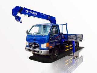Xe Tải Hyundai HD72 2T5 Gắn Cẩu Tadano TM-ZE303MH 3 Tấn 3 Khúc
