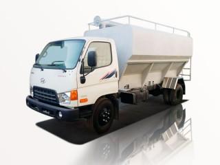 Xe Bồn Hyundai HD800 Chở Thức Ăn Gia Súc 6T5 12 Khối