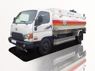 Xe Bồn Hyundai HD800 9 Khối Chở Xăng