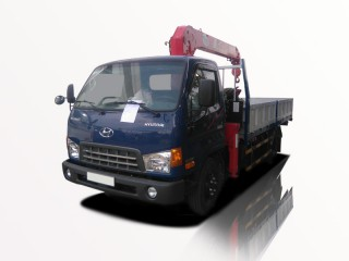 Xe Tải Hyundai HD99 5 Tấn Gắn Cẩu Unic URV343