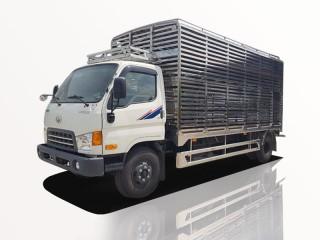 Xe Tải Hyundai HD99 5 Tấn Chở Gia Cầm