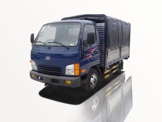 Xe Tải Hyundai New Mighty N250 2T4 Thùng Bạt Gắn Bửng Nâng
