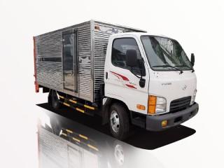 Xe Tải Hyundai New Mighty N250SL 2T5 Thùng Kín Gắn Bửng Nâng