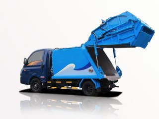 Xe Ép Rác Hyundai Porter H150 1 Tấn 2 Khối