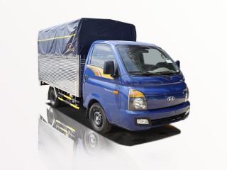 Xe Tải Hyundai New Porter H150 1T5 Thùng Bạt Gắn Bửng Nâng