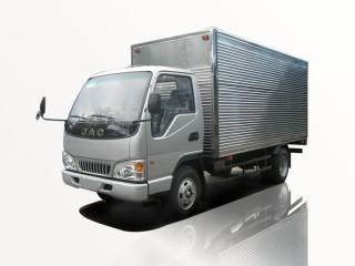 Xe Tải Jac HFC 1030K4 2.4 Tấn Thùng Kín