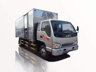 Xe Tải Jac HFC 1083K1 5T5 Thùng Kín Bửng Nâng