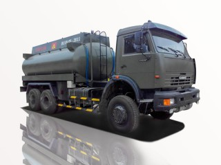 Xe Bồn Kamaz 53228 (6x6) Chở Xăng Dầu 18m3