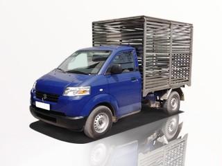 Xe Tải Suzuki Carry Pro 460Kg Chở Gà Vịt