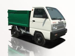 Xe Chở Rác Suzuki Truck Thùng Rời 1 Khối