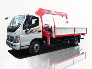 Xe Tải Thaco Ollin700B 5T7 Gắn Cẩu Unic URV375