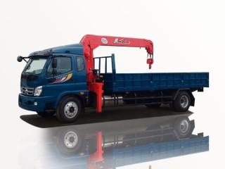 Xe Tải Thaco Ollin950A 6T7 Gắn Cẩu Unic URV555