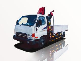 Xe Tải Thaco HD650 5T3 Gắn Cẩu Passi 3T8 4 Khúc