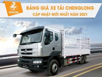 Bảng Giá Xe Tải Chenglong Cập Nhật Tháng 05/2021 Rẻ Nhất