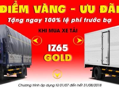 Mua Xe Tải Đô Thành IZ65 Gold - Tặng 100% Phí Trước Bạ