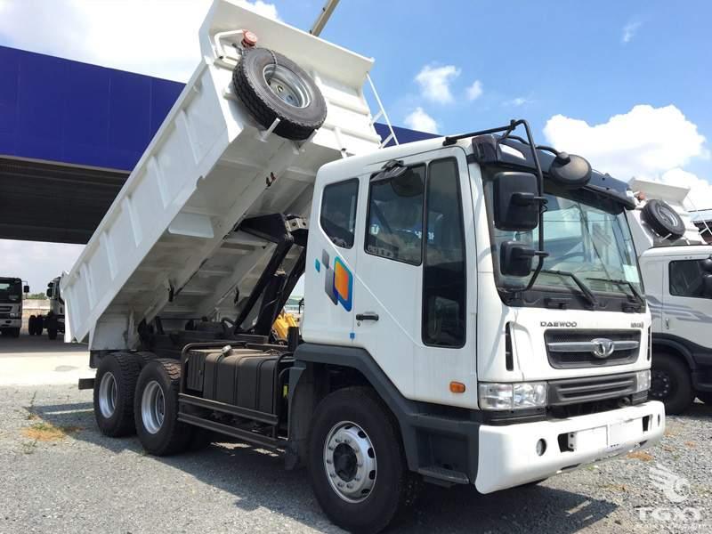 Xe Ben Daewoo 14 Tấn - K4DEF 6x4