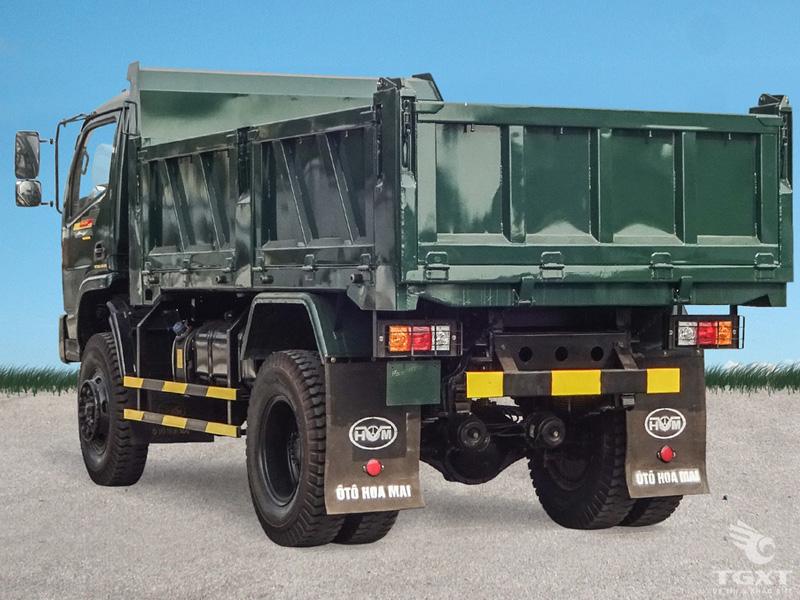 Xe Ben Hoa Mai 2 Cầu 7 Tấn - HD7350A