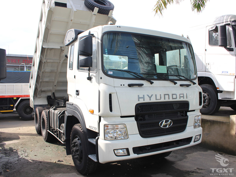 Xe Ben Hyundai 15 Tấn 10 Khối HD270