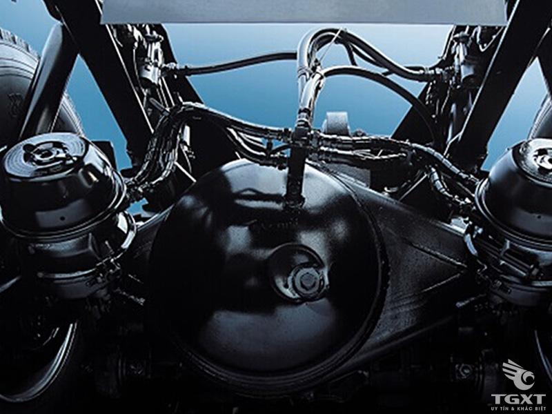 Xe Ben Hyundai Xcient 3 Chân Nhập Khẩu