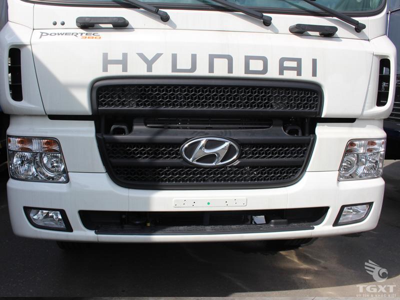 Xe Bồn Hyundai HD260 Chở Xăng Dầu 17 Khối 12 Tấn