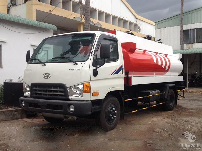 Xe Bồn Hyundai HD700 Chở Xăng 8500 Lít
