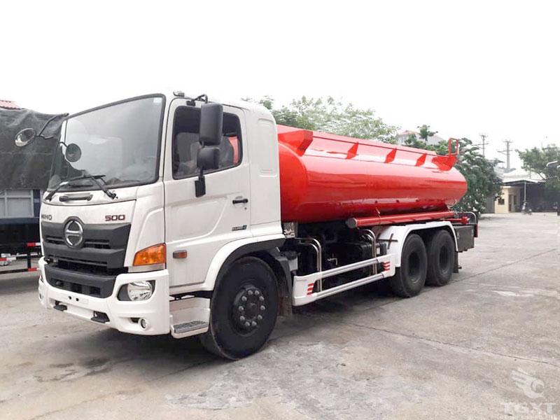 Xe Bồn Chở Xăng Dầu Hino FL8JT7A 14T5 19.5 Khối