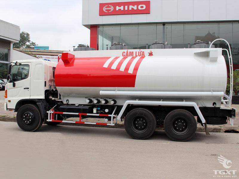 Xe Bồn Hino 3 Chân 20 Khối Chở Xăng - FM8JNSA