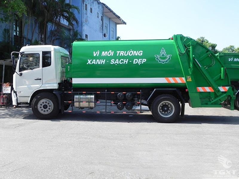 Xe Chở Rác Dongfeng B180 6T1