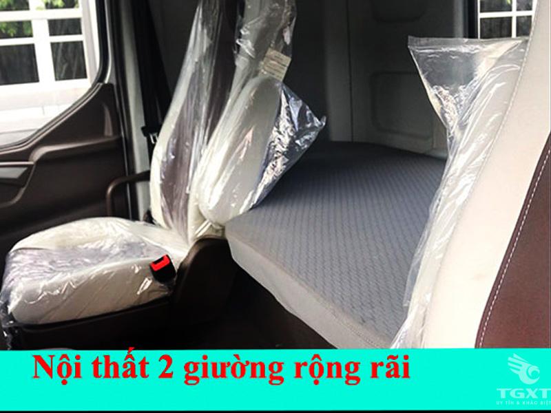 Xe Đầu Kéo Chenglong 420Hp Euro4 Cabin H7 Cầu Láp