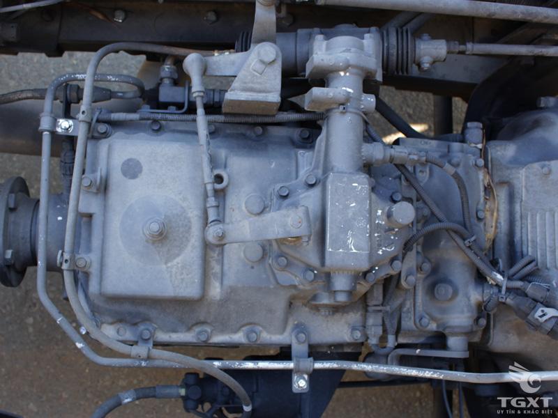 Xe Tải Daewoo 4 Chân 11T5 Gắn Cẩu CSM 10 Tấn CSS300