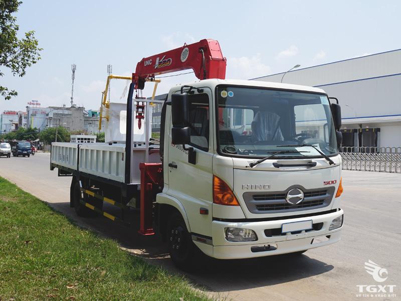Xe Cẩu Hino FC9JLTA 3T4 Gắn Cẩu Unic URV545
