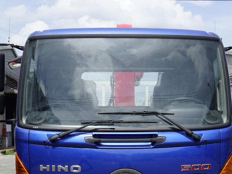 Xe Tải Hino FC9JNTC 4.9 Tấn Gắn Cẩu Unic URV346