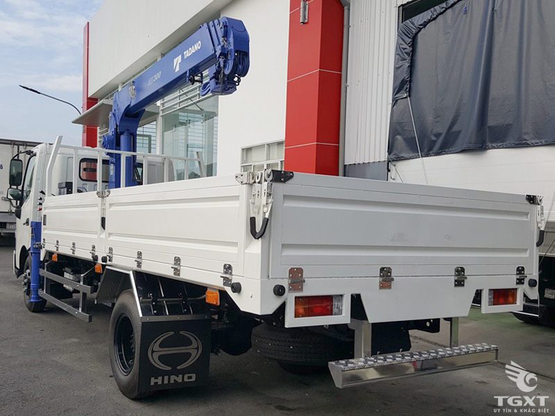 Xe Cẩu Hino XZU730L 3 Tấn Gắn Cẩu Tadano TM-ZE305MH