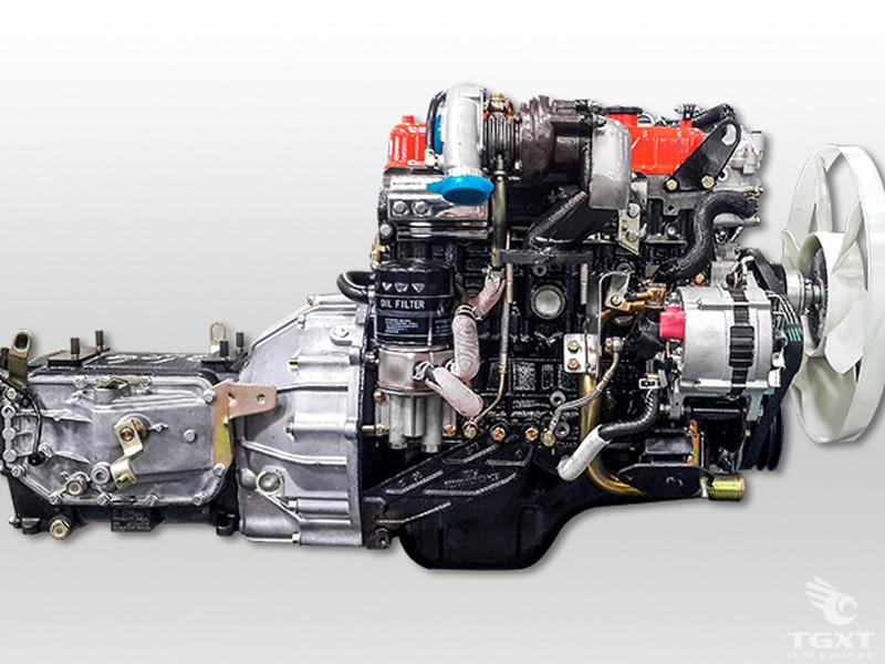 Xe Tải Thaco Ollin800A 6 Tấn Gắn Cẩu Unic URV554